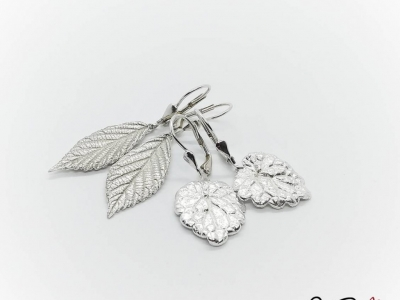 Let's Transform Real Leaves into Silver